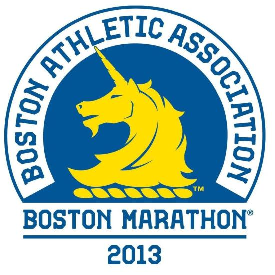 Boston Marathon logo 2015